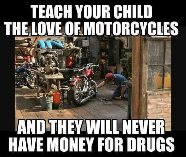 Teach Your Child To Love Motorcycles